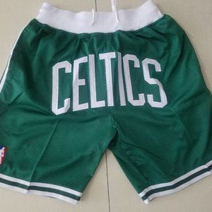 NWT👜Boston Celtics Shorts Just Don 👜NBA Shorts👜